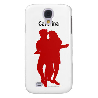 Bachata Dancing Couple Personalized Custom Skin Galaxy S4 Cover