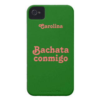 Bachata Latin Dance Custom Name iphone 4g Case Case-Mate iPhone 4 Case