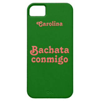 Bachata Latin Dance Custom Name iphone 5g Case