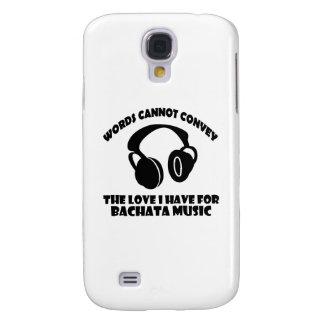 Bachata Music designs Galaxy S4 Case