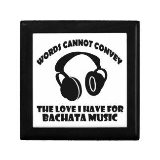 Bachata Music designs Gift Box