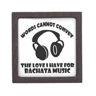 Bachata Music designs Jewelry Box