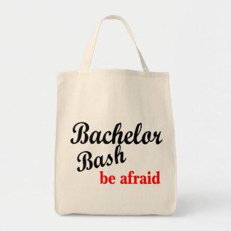 Bachelor Bash Be Afraid Tote Bag