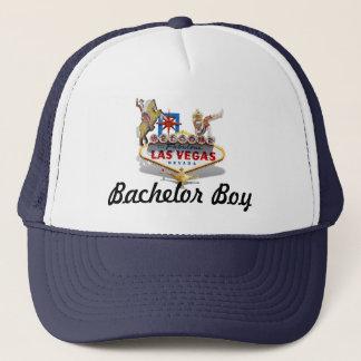 Bachelor Boy - Wedding - Las Vegas Welcome Sign Trucker Hat
