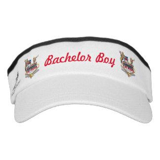 Bachelor Boy -  Wedding - Las Vegas Welcome Sign Visor
