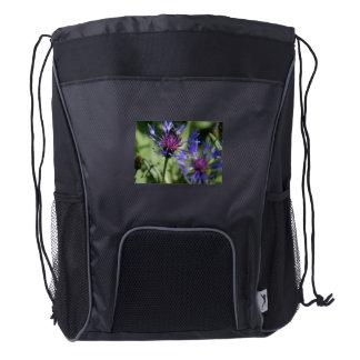 bachelor-button-2 mochila de cordón