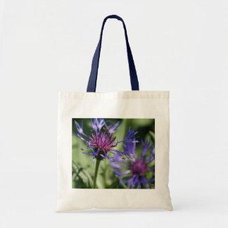 Bachelor Button Plant Tote Bag