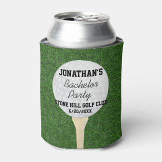 Bachelor Golfing Party or Birthday Golfing Party Can Cooler
