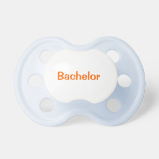 Bachelor Pacifier