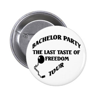 Bachelor Party 2 Inch Round Button