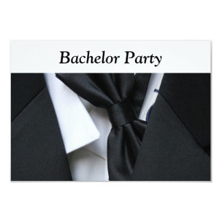 Bachelor Party 3.5x5 Paper Invitation Card