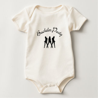 bachelor party baby bodysuit