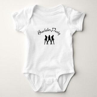 bachelor party baby bodysuit