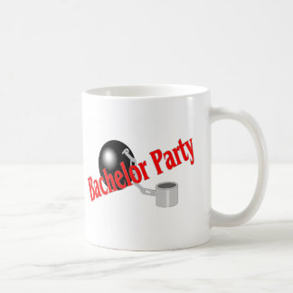 Bachelor Party Ball and Chain Classic White Coffee Mug