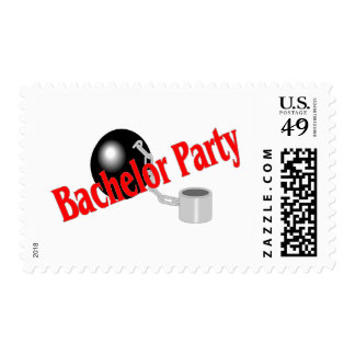 Bachelor Party (Ball and Chain) Stamps