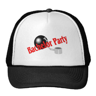 Bachelor Party Ball and Chain Trucker Hat