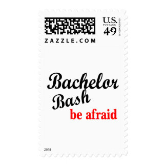 Bachelor Party Be Afraid Stamps