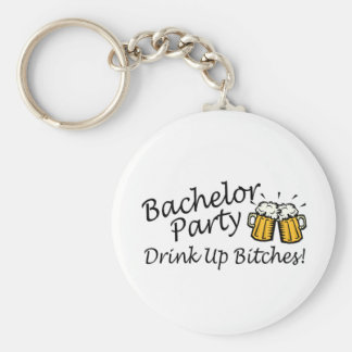 Bachelor Party Beer Jugs Keychain