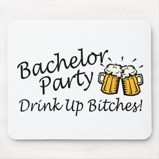 Bachelor Party Beer Jugs Mouse Pad