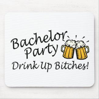 Bachelor Party Beer Jugs Mousepad