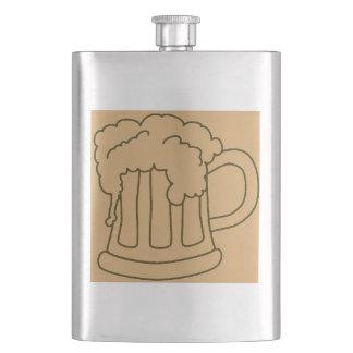 Bachelor Party Beer Mug Hip Flask