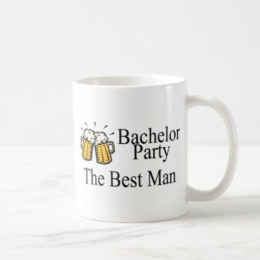 Bachelor Party Best Man (Beers) Coffee Mug