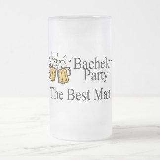 Bachelor Party Best Man (Beers) Coffee Mugs