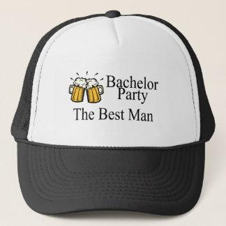 Bachelor Party Best Man (Beers) Trucker Hat
