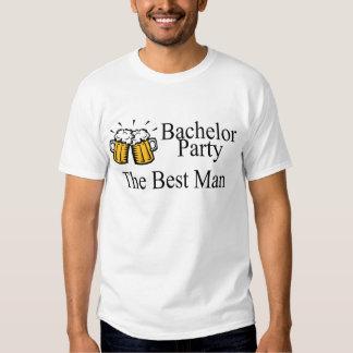 Bachelor Party Best Man Wedding T-shirt