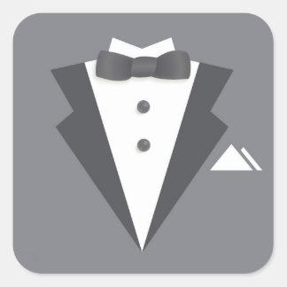 Bachelor Party Black Suit Sticker