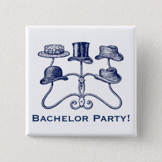 Bachelor Party Button