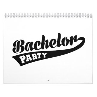 Bachelor Party Wall Calendars