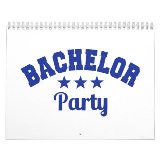 Bachelor Party Calendar