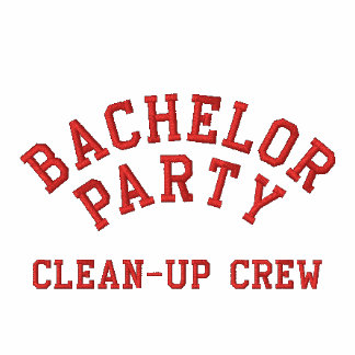 Bachelor Party, Clean-up Crew Embroidered Polo Shirt