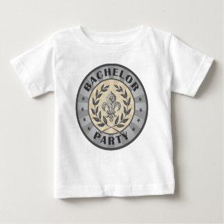 Bachelor Party Crest Design T Shirt