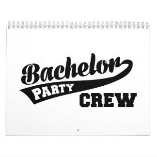 Bachelor Party Crew Calendar