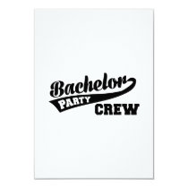 Bachelor Party Crew Card