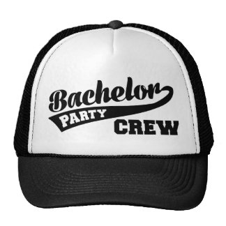 Bachelor Party Crew Hat