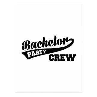 Bachelor Party Crew Postcards