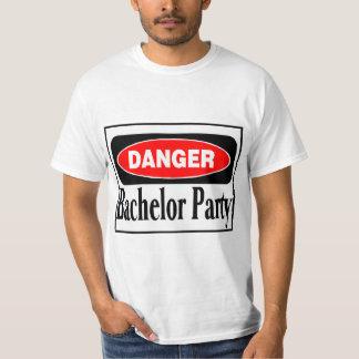 Bachelor Party Danger Shirt