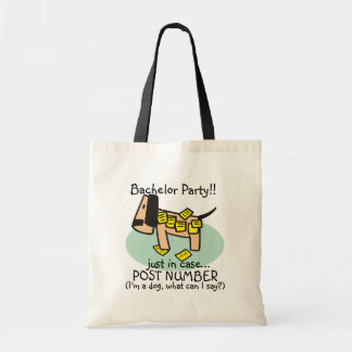 Bachelor Party Dog T-shirts and Gifts Bag