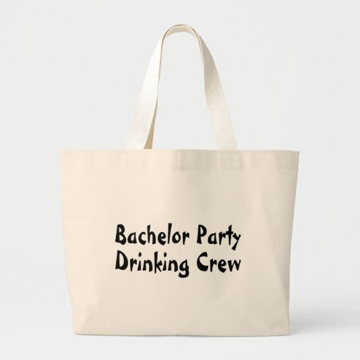 Bachelor Party Drinking Crew Tote Bag
