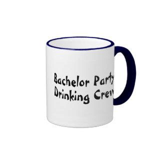Bachelor Party Drinking Crew Ringer Coffee Mug