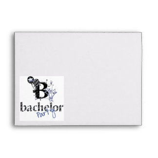 Bachelor Party Envelope