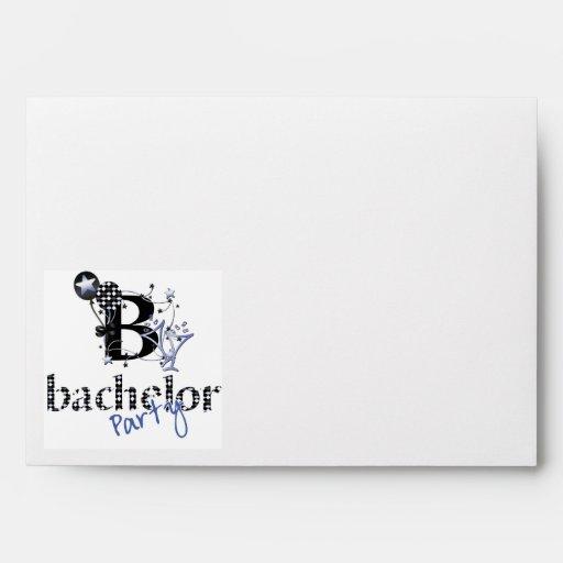 Bachelor Party Envelope