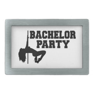 Bachelor Party girl Belt Buckle