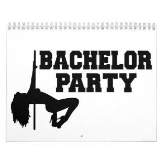 Bachelor Party girl Calendar