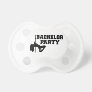 Bachelor Party girl Pacifier