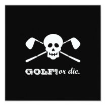 Bachelor Party Golf - Not Dead Yet! Card