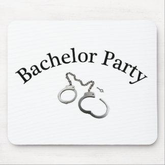 Bachelor Party Handcuffs Mousepad